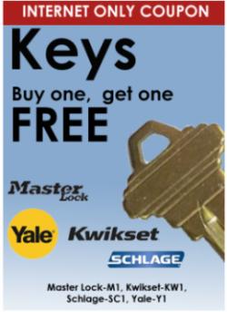 Key Coupon Website