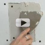 Drywall Repair: How to Repair Drywall