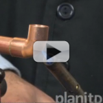 How to sweat copper pipes and fittings