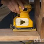Belt sander, orbital sander or palm sander – How to choose your power tool
